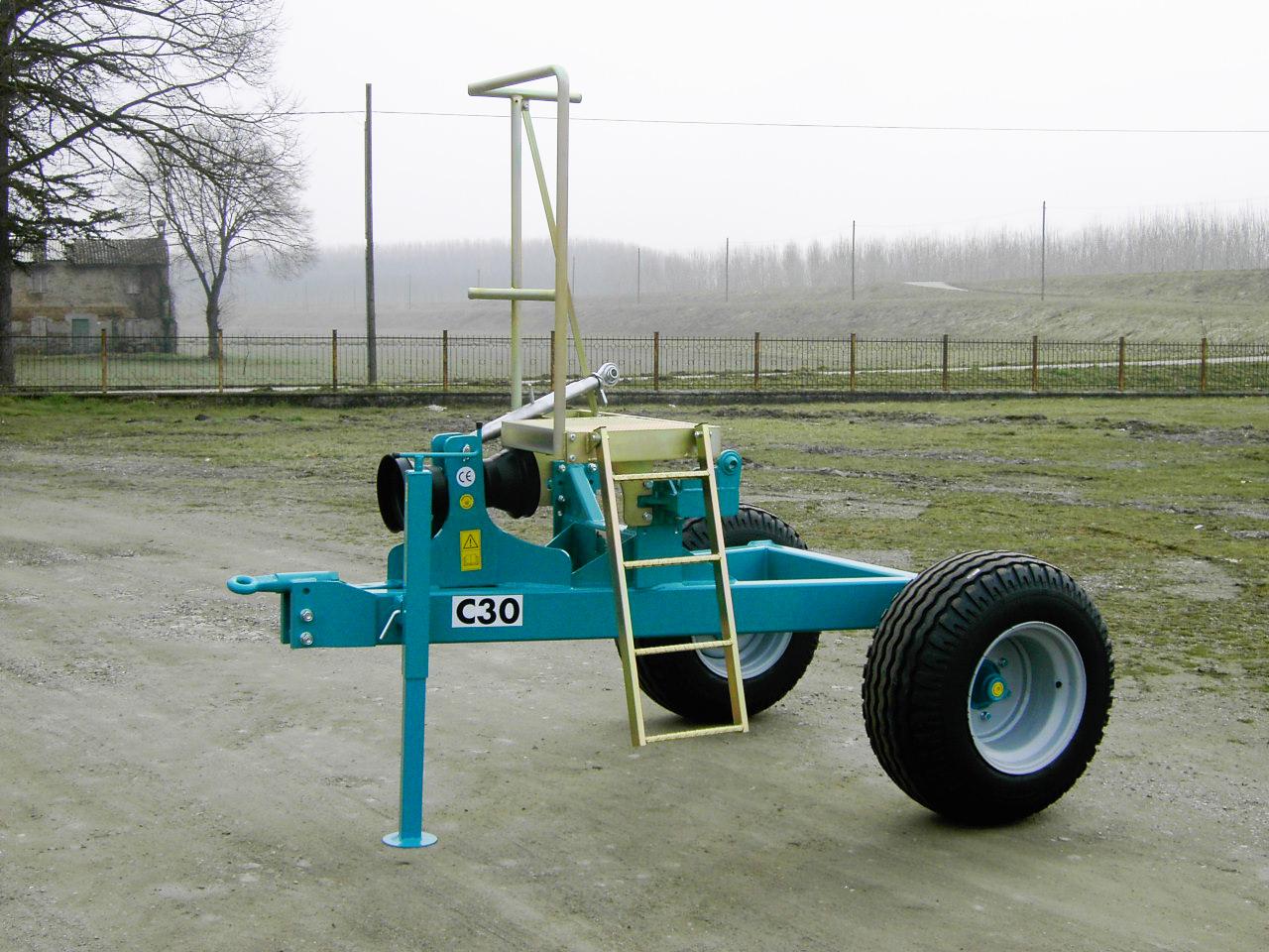 Carrello C30 fronte